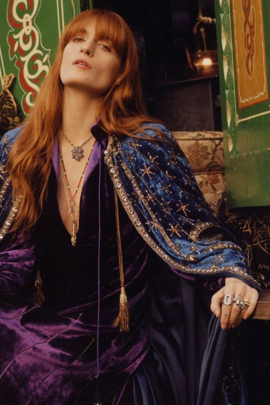 FLORENCE WELCH for Gucci Jewelry 2019 Campaign