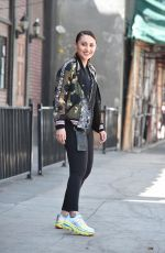 FRANCIA RAISA Out and About in Los Angeles 04/01/2019