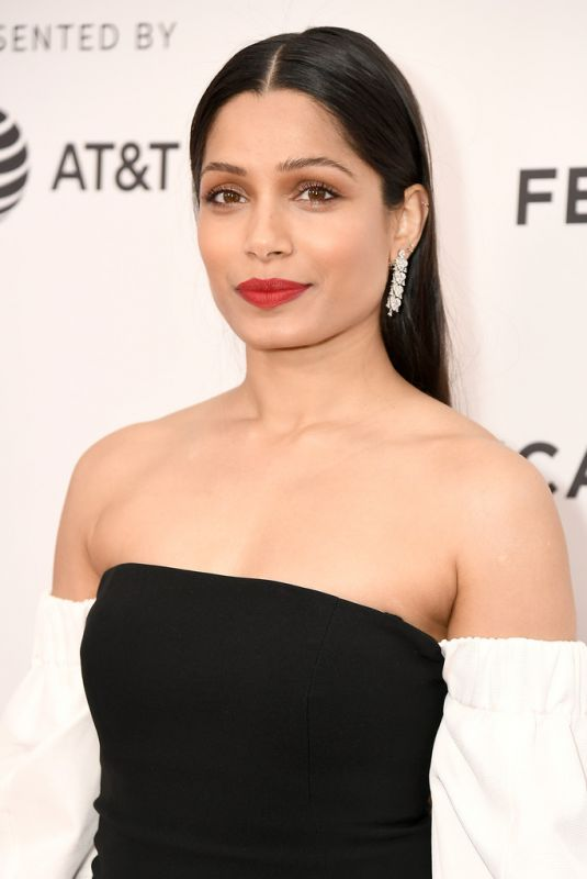 FREIDA PINTO at Only Premiere at Tribeca Film Festival 04/27/2019