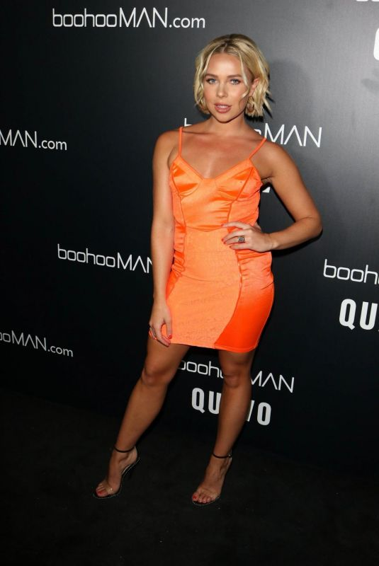 GABBY ALLEN at Quavo x Boohoo Man LA Launch Party in West Hollywood 04/10/2019