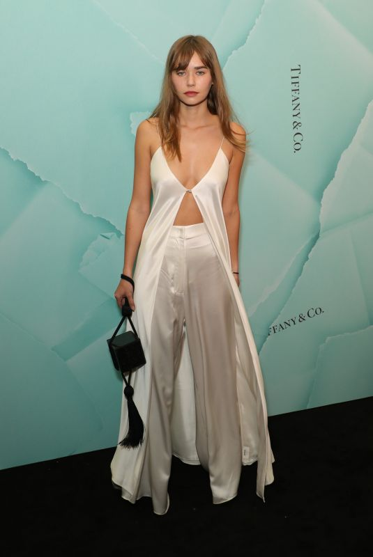 GABRIELLA BROOK at Tiffany & Co. Store Opening in Sydney 04/05/2019