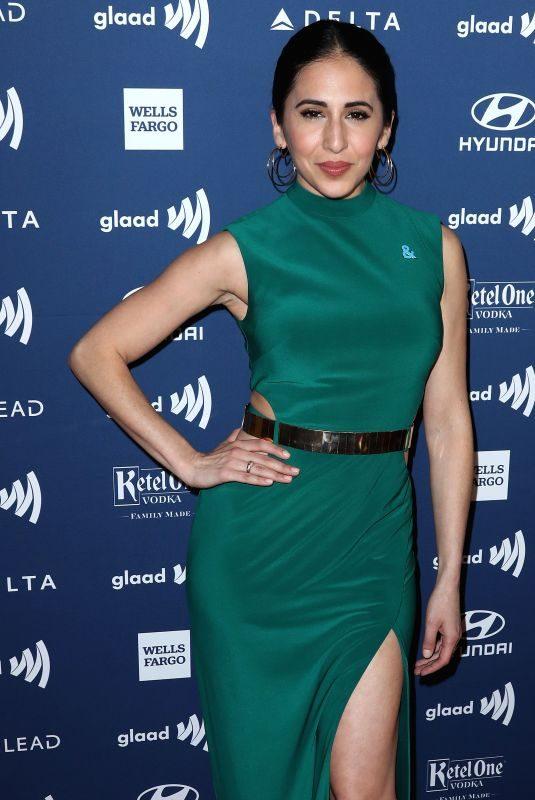GABRIELLE RUIZ at 2019 Glaad Media Awards in Los Angeles 03/28/2019