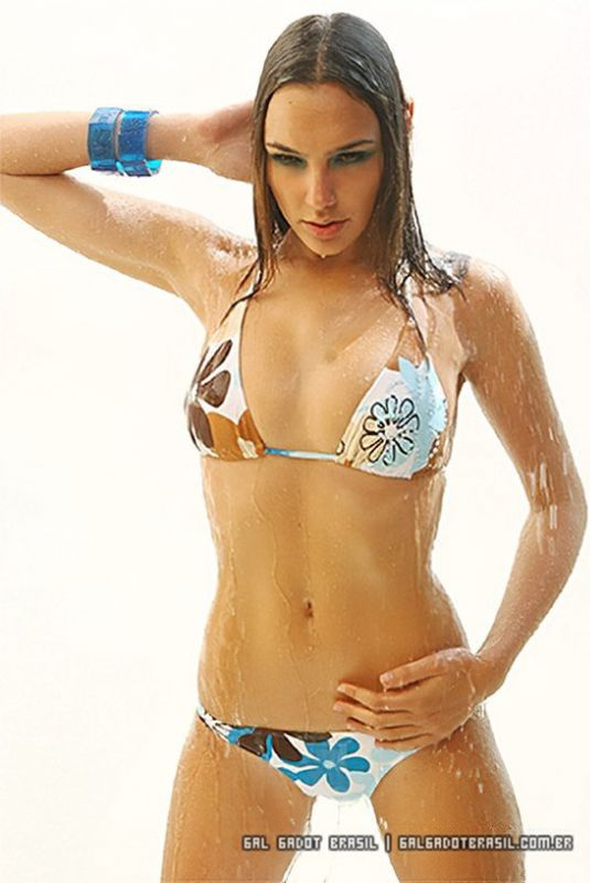 GAL GADOT in Bikini for Blazer Magazine, 2007