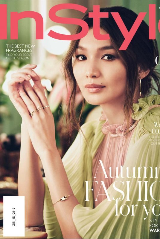 GEMMA CHAN in Instyle Magazine, Australia May 2019