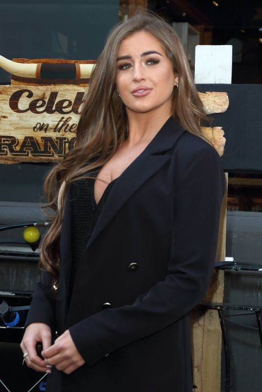 GEORGIA STEEL at Celebs on the Ranch Screening Party in London 04/01/2019