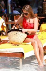GEORGIA STEEL in Bikini at Five Palm Hotel in Dubai 04/02/2019