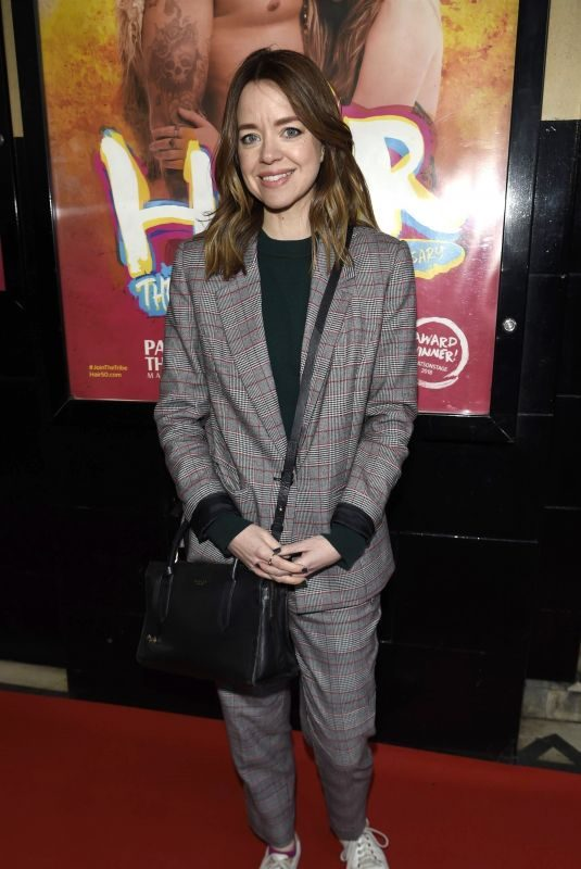GEORGIA TAYLOR at Hair the Musical Opening Night in Manchester 04/09/2019