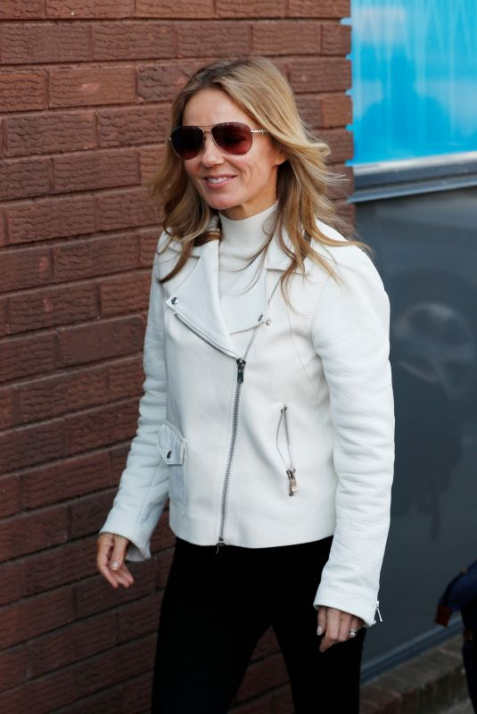 GERI HALLIWELL Arrives at Recording Studio in London 04/15/2019