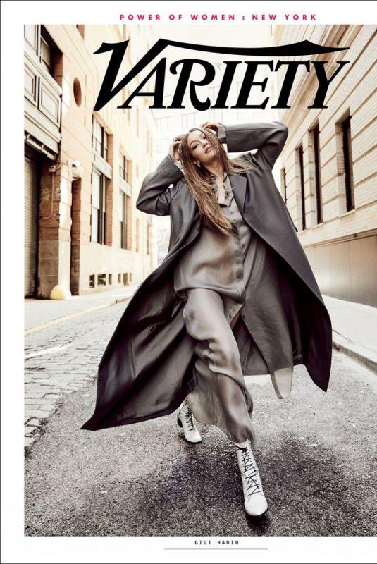 GIGI HADID for Variety Power of Women: New York Magazine, April 2019