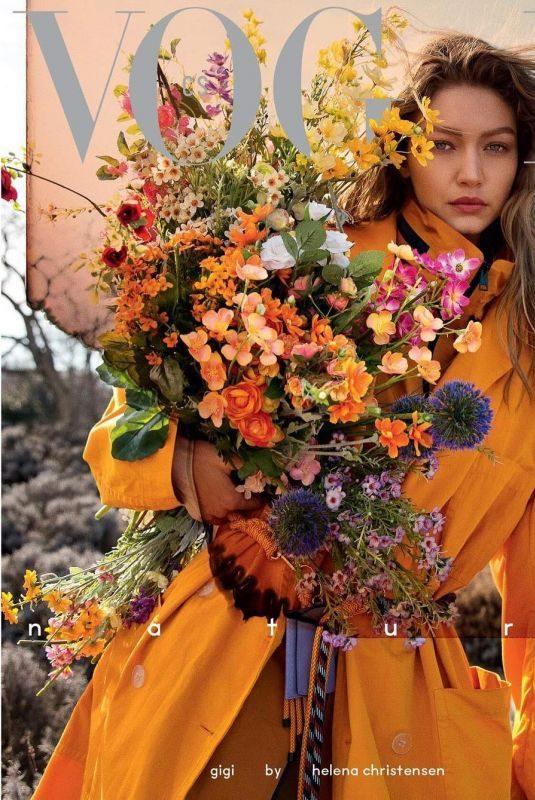 GIGI HADID for Vogue Magazine, Czechoslovakia May 2019