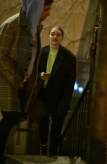 GIGI HADID Out for Dinner in New York 04/03/2019