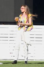 GIGI HADID Out for Drink at Coachella in Indio 04/12/2019