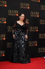 GLORIA ESTEFAN at 2019 Laurence Olivier Awards in London 04/07/2019