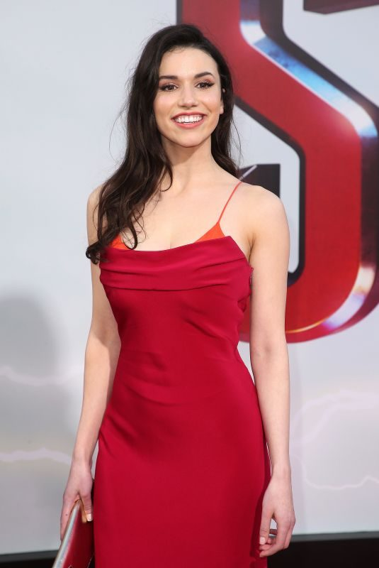 GRACE FULTON at Shazam! Premeire in Hollywood 03/28/2019
