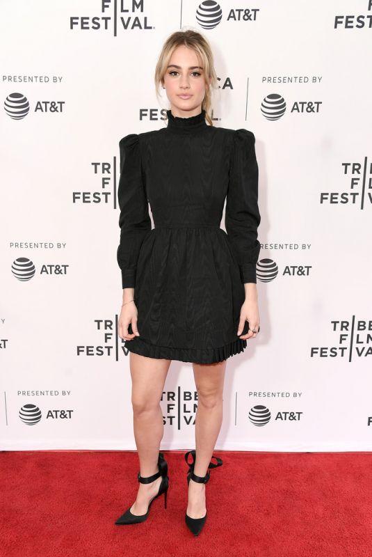 GRACE VAN PATTEN at Good Posture Premiere at Tribeca Film Festival in New York 04/27/2019