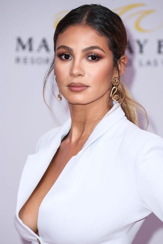 GREICE SANTO at 2019 Billboard Latin Music Awards Press Room in Las Vegas 04/25/2019