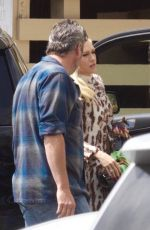 GWEN STEFANI and Blake Shelon at a Church in Los Angeles 04/21/2019