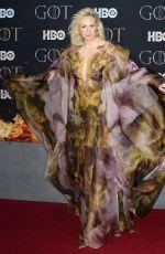 GWENDOLINE CHRISTIE at Game of Thrones, Season 8 Premiere in New York 04/03/2019