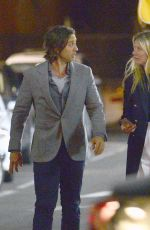 GWYNETH PALTROW and Brad Falchuk Night Out in Los Angeles 04/01/2019