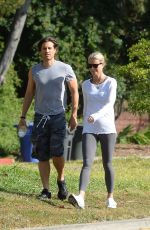 GWYNETH PALTROW and Brad Falchuk Out Hiking in Los Angeles 04/09/2019