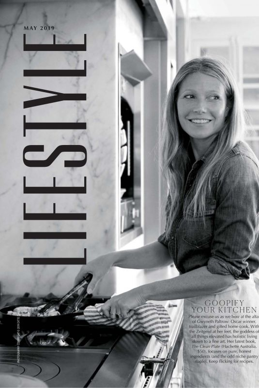 GWYNETH PALTROW in Marie Claire Magazine, Australia May 2019