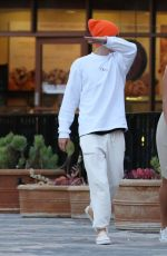 HAILEY and Justin BIEBER Out in Los Angeles 03/30/2019
