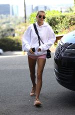 HAILEY BIEBER Heading to a Gym in Hollywood 04/06/2019