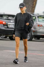 HAILEY BIEBER Heading to Yoga Class in West Hollywood 04/11/2019