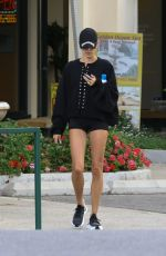 HAILEY BIEBER Leaves a Spa in West Hollywood 04/11/2019