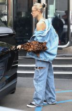 HAILEY BIEBER Leaves XIV Karats in Beverly Hills 04/11/2019
