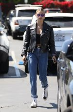 HAILEY BIEBER Out adn About in West Hollywood 04/06/2019