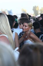 HAILEY BIEBER Out at 2019 Coachella Valley Music and Arts Festival in Indio 04/12/2019