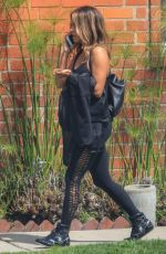HALLE BERRY Out and About in Los Angeles 04/02/2019