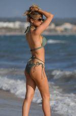 HAYLEY HUGHES in Bikini at a Beach in Majorca 04/10/2019