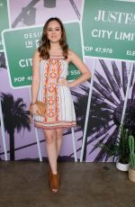 HAYLEY ORRANTIA at Justfab and Shoedazzle Present: The Desert Oasis in Los Angeles 04/04/2019