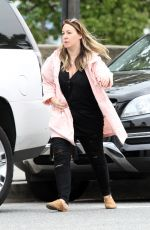 HAYLIE DUFF Out and About in Los Angeles 04/20/2019