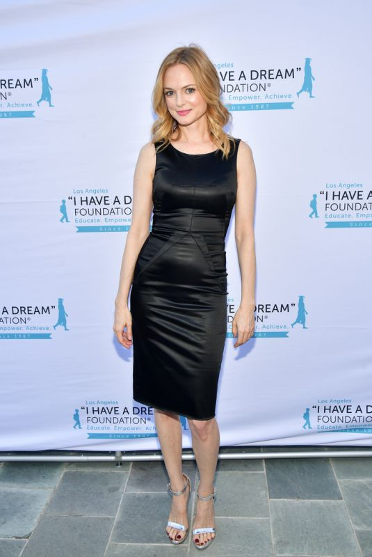 HEATHER GRAHAM at Freamer Dinner Benefit in Los Angeles 03/31/2019