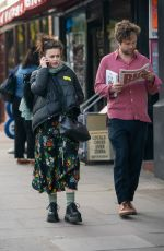 HELENA BONHAM CARTER and Rye Dag Holmboe Out in London 04/01/2019