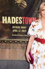 HELENE YORKE at Hadestown Broadway Opening Night in New York 04/17/2019