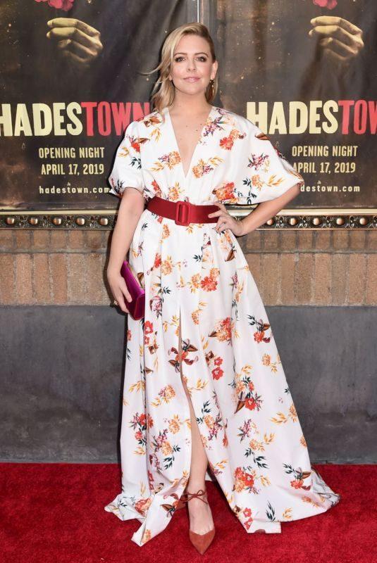 HELENE YORKE at Hadestown Broadway Opening Night in New York 04/17/2019