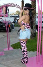 HENNESSY CAROLINA at Revolve Party at Coachella Festival in Indio 04/13/2019
