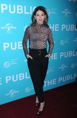 HILARIA BALDWIN at The Public Premiere in New York 04/01/2019