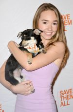 HOLLY TAYLOR at Best Friends Animal Society Benefit To Save Them All in New York 04/02/2019