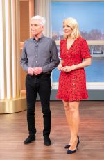 HOLLY WILLOGHBY at This Morning TV Show in London 04/04/2019