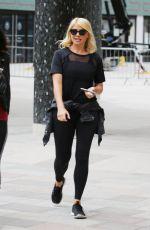 HOLLY WILLOGHBY Leaves ITV Studios in London 04/23/2019