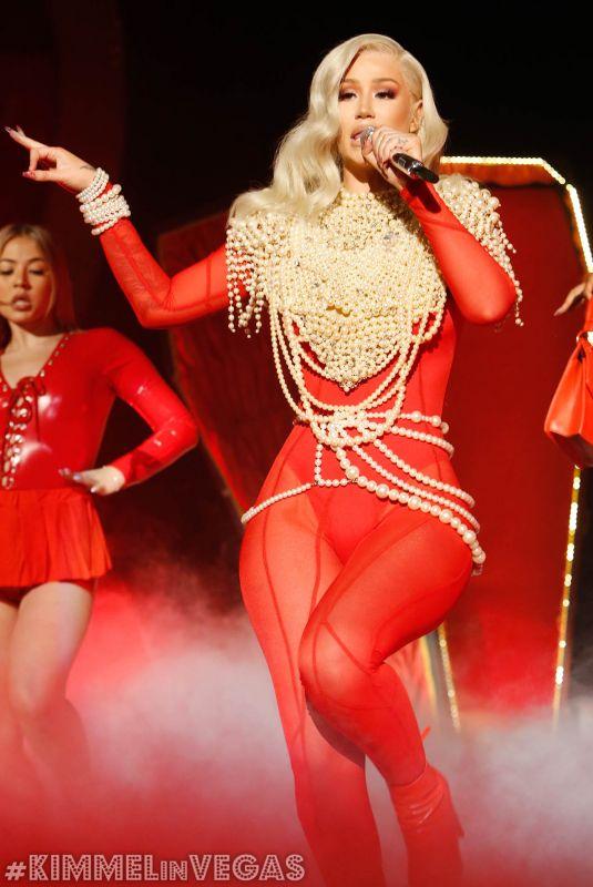 IGGY AZALEA Performs Sally Walker at Jimmy Kimmel Live! in Las Vegas 04/04/2019