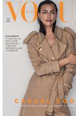 IRINA SHAYK for Vogue Magazine, Brazil April 2019