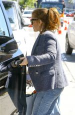 ISLA FISHER Out Shopping in West Hollywood 04/10/2019