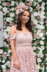 JACQUELINE JOSSA and HELEN FLANAGAN at Grand National Ladies Day at Aintree Racecourse 04/05/2019