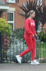 JACQUELINE JOSSA Out and About in London 04/24/2019